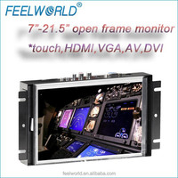8inch embedded pos display with vga hdmi rca s-video for industrial device