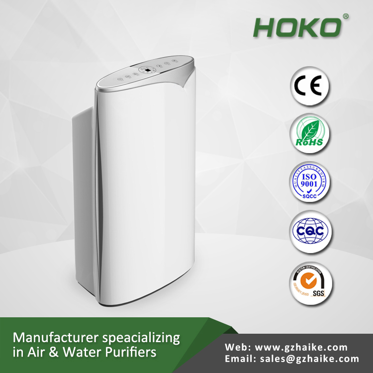 air purifier ionizer for air conditioner remove smoke for office and the home with hepa filter