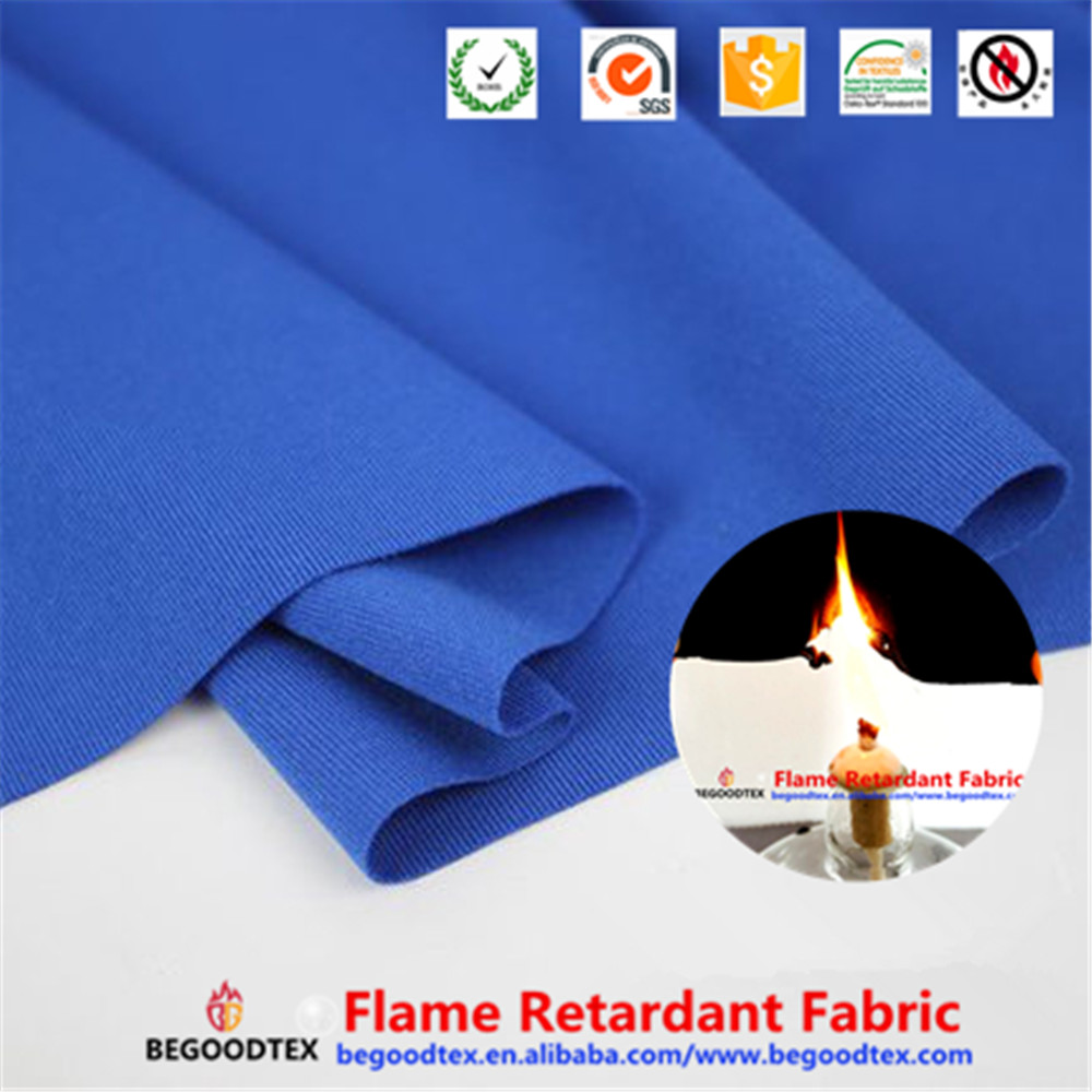 chinese supplier panel fire proof 100% polyester stretch fabric