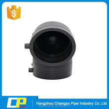 PE100 pipe fittings electrical melt 90 degree elbow
