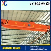 1 - 30 ton High quality single girder hanger bridge crane for sale