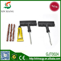 Tubeless tyre repair kit, tubeless tyre repair strings