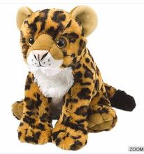 Hot sales large Baby stuffed animal chester cheetah plush toy