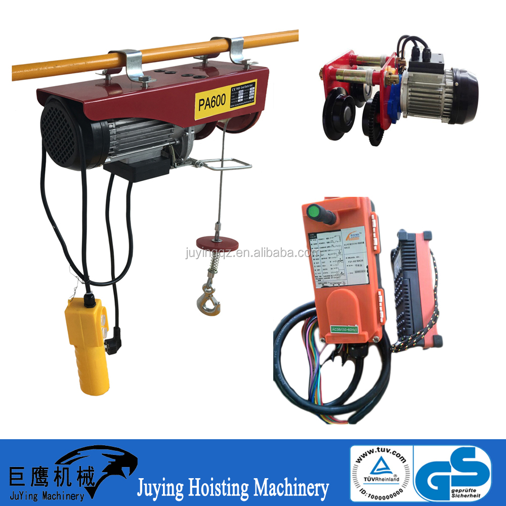 Geared trolley / trolley tool for hoist mini mobile crane for sale