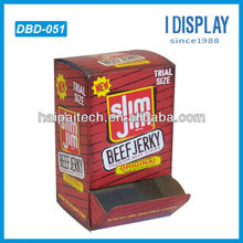 POP counter cardboard feeder display for Food