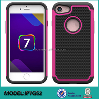 Hybird TPU+PC cell phone case & Silicon Back Cover for iPhone 7