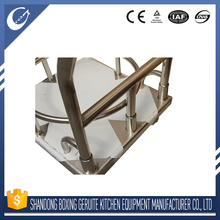 Stainless Steel OEM Professional custom food metal trolley for ready meals