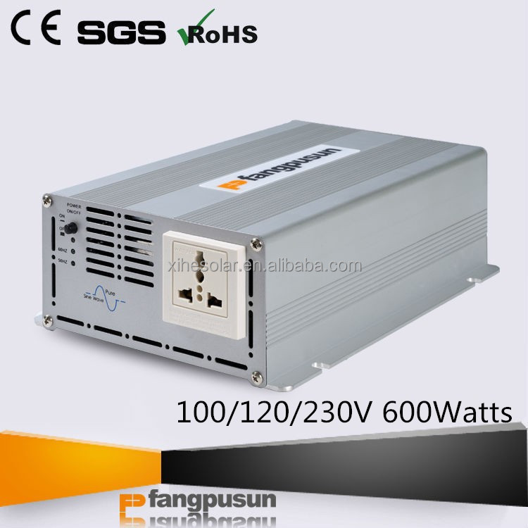 dc to pure sine wave ac output 600w factory price of inverter batteries