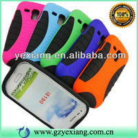 For SamSung i8190 Galaxy S3 Mini New Arrival 2 in 1 Combo Mobile Phone Case