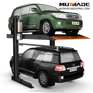 hydraulic simple small mini Subterranean storage auto underground share columns motorcycle automatic car parking lift