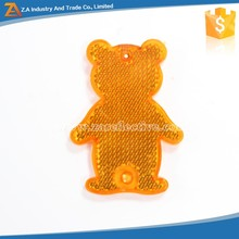 Animal Shape Bear Reflective Key Chain with Cheap Price