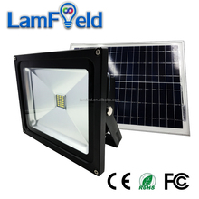 Outdoor Garden Solar Power System 10W LED Solar Flood Light With Timer