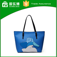 Fashion trendy PU lady hand bag tote bag new innovation products