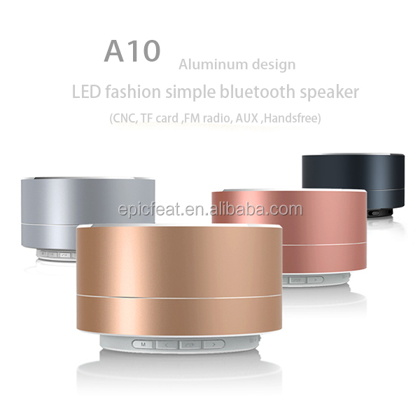 New Developed Fashion A10 Bluetooth Mini Speaker,Rohs Bluetooth Speaker,Phone Speaker