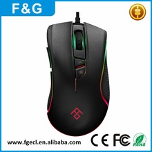 5000DPI Best Selling Wired USB Gaming Mouse With Optical Mouse 7D Color Changing Computer Mouse