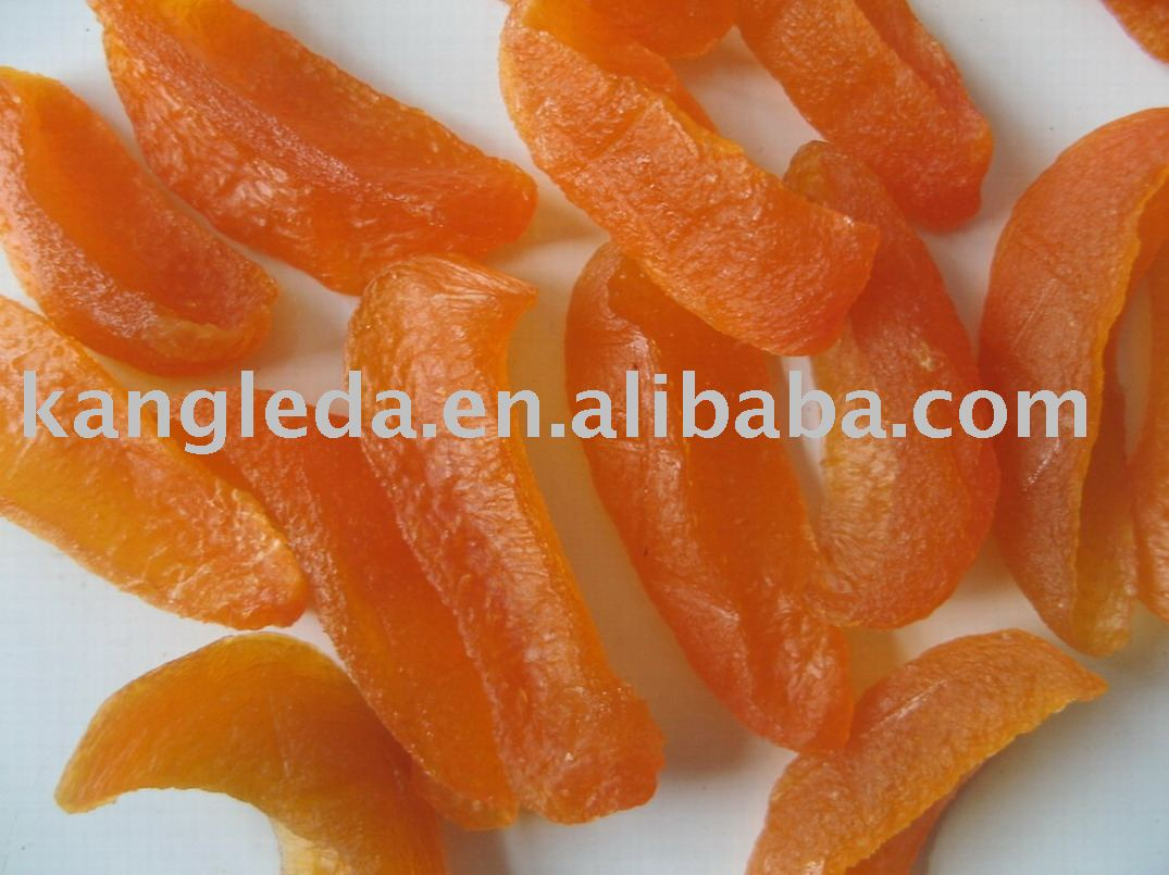 Natural Nourishing Dried Yellow Peach Slices
