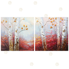 2016 Modern Wall Decoration tree oil painting