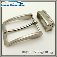 Professional manufactur fashion style 35mm pin buckle for belt loop buckle bridge buckle