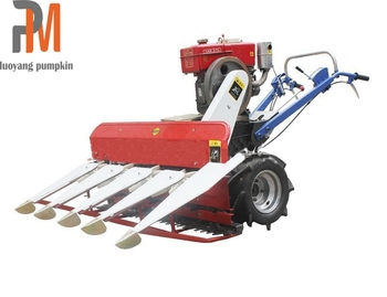 High quality Comnine rice wheat reaper mini wheat cutting harvester machines