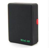 Cute Black Mini Global Locator Real Time Car Kids Pet Tracker GSM/GPRS/GPS Tracking Device
