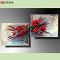 FG-02389 Handmade oil painting beautiful flower paintings