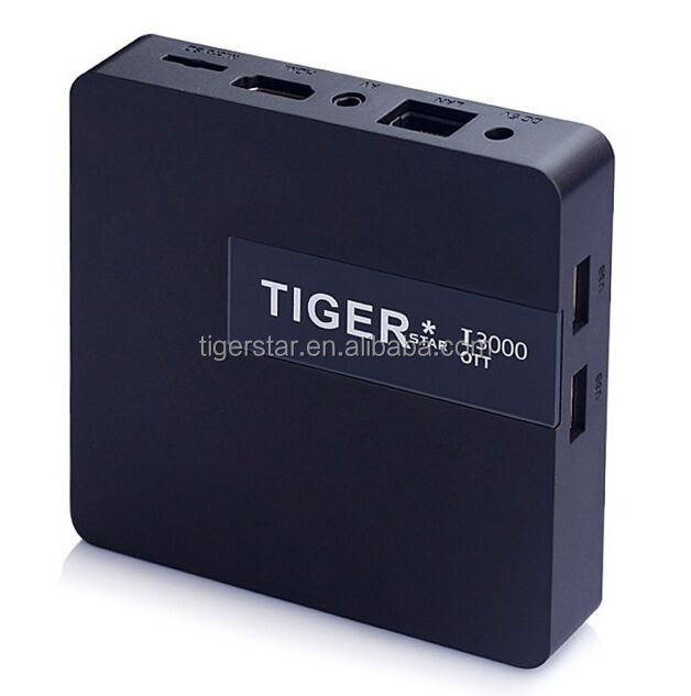 Tiger I3000 OTT wholesale android smart tv set top box