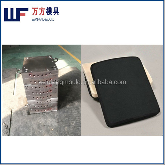 supply high quality body armor plate mould making
