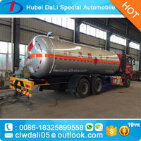 35000L Dongfeng HOWO ethylene delivery tanker truck for sale
