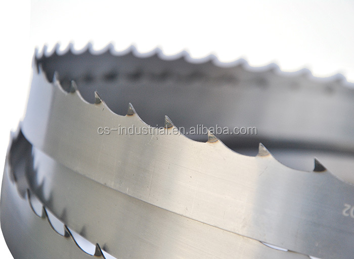 timber mill use electric band saw blade for cutting wood
