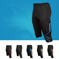 Wholesale soccer training cropped pants sports 100 polyester men short track pants