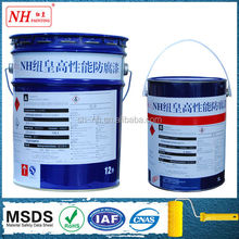 Good resistant to abrasion bituminous epoxy paint