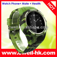 TW320S Waterproof Health Management GSM Smart Watch Mobile Phone with 2.0MP Camera
