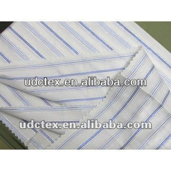 Polyester Sleeve Taffeta/Stripe Yarn-Dyed Fabric