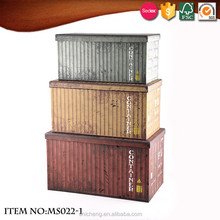 Special style 3D pattern fashion storage box with lid