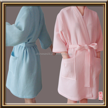 wholesale and OEM service Waffle Weave Robe