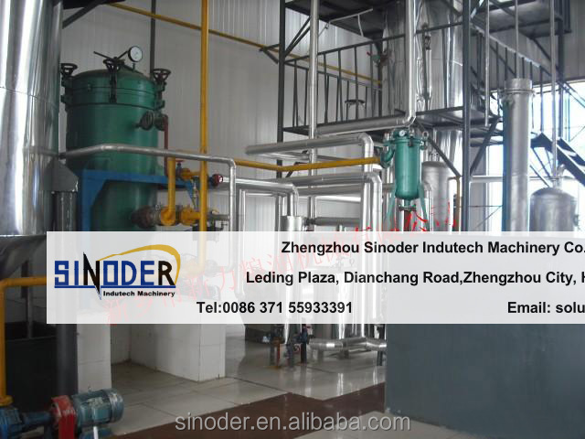 1T/D-100T/D oil refining equipment small crude oil refinery soybean oil refinery plant refinery sunflower oil