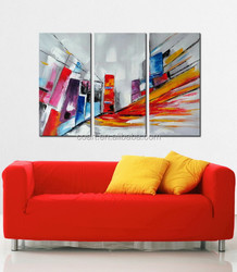 interior decoration painting on canvas