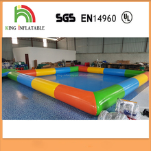 0.65 PVC Colorful Inflatable Swimming Pool Water Games for sale
