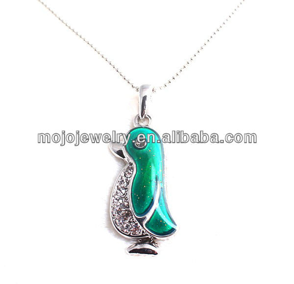 Impressive emerald imitation colors changing craft gifts, silver plated and eco-friendly