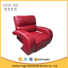 Premier sofa manufacturer one person sofa bed furniture red leather recliner sofa