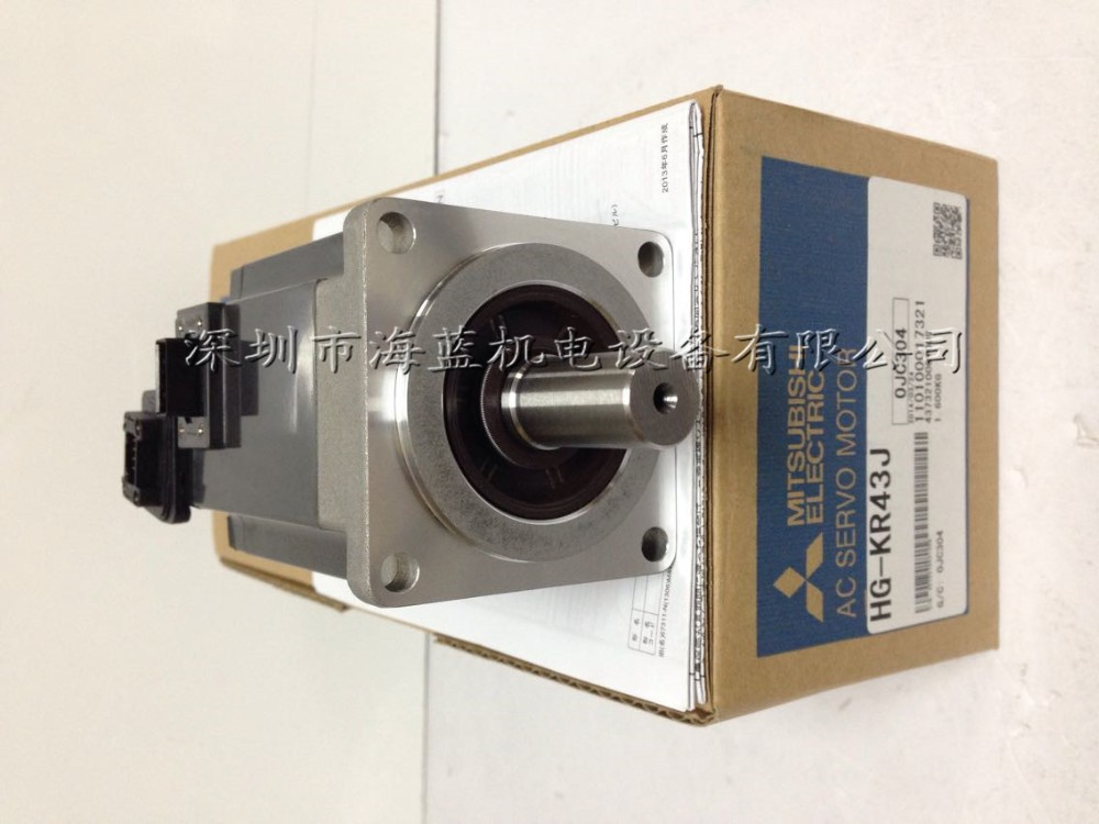 Japan Mitsubishi ac servo motor of 400v 400W HG-KR43J large stock