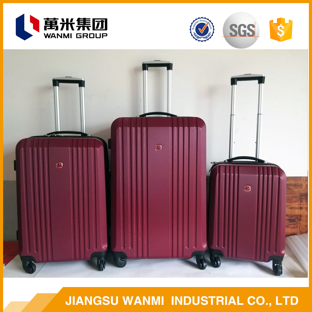 Manufacturer china case for china cheap wheeled travel luggage sets