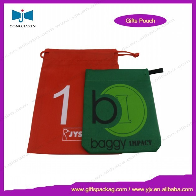 2015 new products cheap drawstring nylon bags nylon pouch