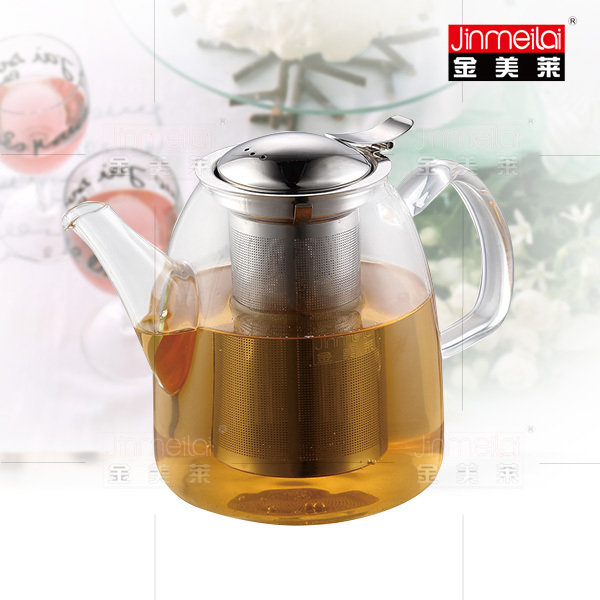 borosilicate glass tea pot with infuser best glass teapot tea brewer