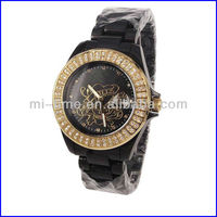 Fashion Lovely Hello Kity Leather Kids Watch
