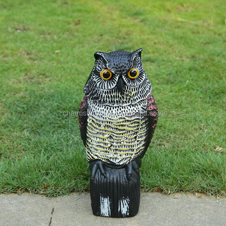 plastic animals garden decoration garden decoration plastic bird well decoration garden