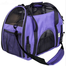 Wholesale Shoulder Pet Bag Made of Durable Polyester And Breathable Mesh Cloth Pet carrier