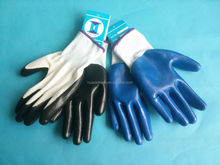 13g polyester nitrile coated western safety gloves labor hand gloves cycling glovescoated gloves gloves