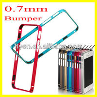 0.7mm Ultra-thin Case Bumper for iPhone 5 5S Case Hard Aluminum Metal & Removable New Arrival Fashion Hot Sell