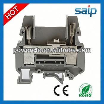 Din Rail Industrial Distribution JUT1-2.5 2mm connector terminal